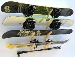 snowboard rack for wall multi ski and hanger mount burton canada or diy