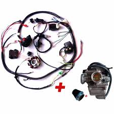 complete electrics gy cc wiring harness buggy atv carburetor complete electrics gy6 150cc wiring harness buggy atv carburetor air filter