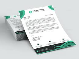 Free Sample Letterhead Template Word Publisher Stationery Personal ...