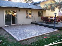 diy paver patio add easy way to lay a how build building