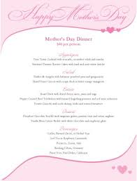 Mother S Day Menu Template 11 Best Photos Of Mothers Day Brunch Menu Template Free