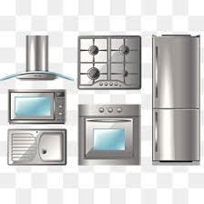 kitchen appliances clipart. Exellent Appliances Kitchen Appliances Collection Kitchen Appliances Range Hood Oven PNG And  PSD On Appliances Clipart A