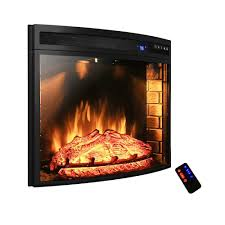 electric log inserts for existing fireplaces akdy ak ef0628 28 in electric fireplace insert freestanding 3d
