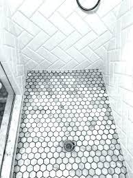 grey shower tiles interesting floor tile small tiles hexagon white and ideas t81 shower