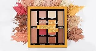 Maybelline Cosmetics Eyeshadow Palette - Lemonade ...