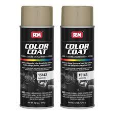 Sem 15143 Color Coat Sandstone Flexible Coating Vinyl Plastic 12 Oz 2 Cans