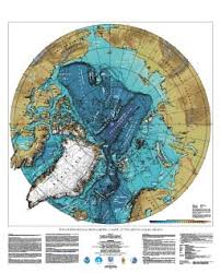 Noaa Bathymetric Charts International Bathymetric Chart Of The Arctic Ocean Ibcao