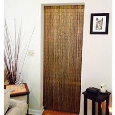 handmade natural bamboo beaded curtain