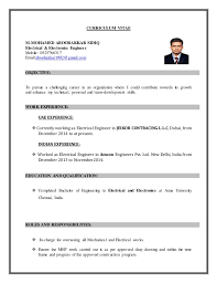 Mep Engineer Resume