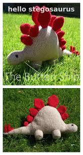 Free Crochet Dinosaur Pattern Adorable Crochet Amigurumi Dinosaur Free Patterns