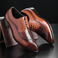 <b>Men</b> Fashion Classic Bullock <b>Bright</b> Wedding Business <b>Shoes</b> ...