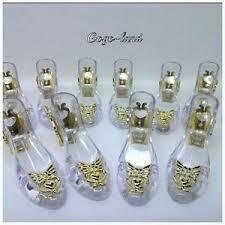 48 clear slippers wedding souvenir favor holders plastic shoes