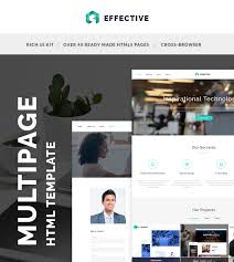 Website Html Templates Fascinating IT Company HTML Template