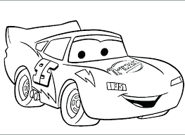 Coloring Pages Of Lightning Mcqueen Lightning And Mater Coloring