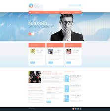 Political Website Templates Political Candidate Responsive Website Template