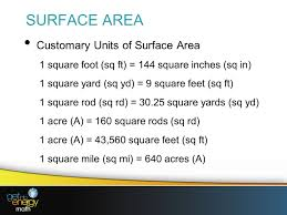144 Square Feet Presentation 7 Customary Measurement Units Ppt Video Online Download