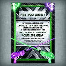 Free Laser Tag Invitation Template Laser Tag Invitations Party City Birthday Inspirational Invitation