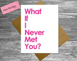 simple white birthday card saying with pink font and burlap envelope for best friends cards guy