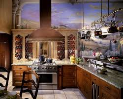 tuscany countryside kitchen wall mural art