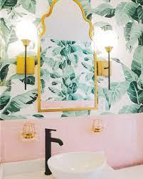 Pink bathroom tiles ...