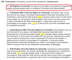 free subcontractor agreement templates