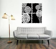 set of fantastic large wall decals