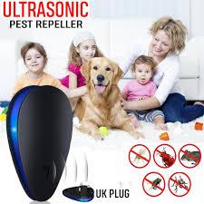 PDTO <b>Electronic Ultrasonic Mosquito Killer</b> Insect Pest Rat Mice ...