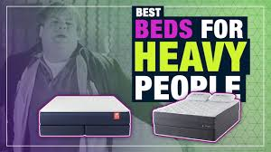 Best Mattress For Heavy People, Obese Sleepers & Big Guys (TOP ...