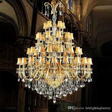large crystal chandelier with fabric cover gold large hotel chandelier glass arm large modern hotel banquet hall staircasecrystal chandelier chandelier