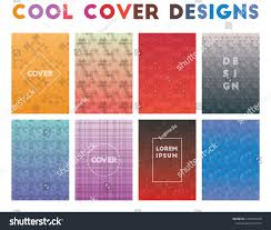 Cool Cover Designs Cool Cover Designs Alluring Geometric Patterns Stock Vector