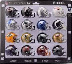 Amazon Com Riddell Nfl Nfc Helmet Pocket Pronfc Conference