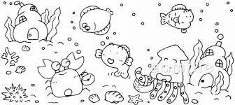 海底イラストなら小学校幼稚園向け保育園向けのかわいい無料