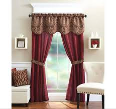 Maroon Curtains For Living Room Burgundy Curtains For Living Room 54 X 84 Inches