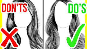 1280x720 do 39s don 39ts how to draw realistic hair step by step