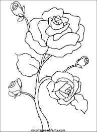 Dessins Gratuits Colorier Coloriage Fleurs Imprimer