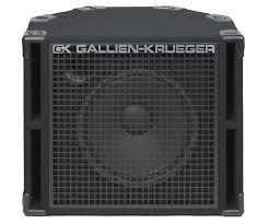 1x15 Guitar Cabinet Gallien Krueger 115rbh 1x15 Bass Speaker Cabinet Samash