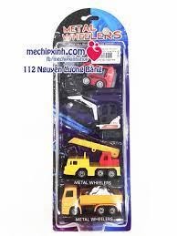 Set vỉ 4 ô tô đồ chơi bằng sắt cho trẻ em | Sản phẩm