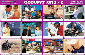 Occupation Chart Pictures Spectrum Educational Charts Chart 247 Occupation 2
