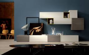 Wall Unit Designs For Small Living Room Living Room Chic Small Living Room With White Modular Storage
