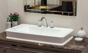 standard bathroom sink sizes