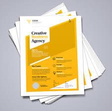 Create Leaflet Online A4 Flyers Leaflets Printing Design Print Colour A4
