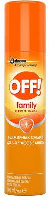 """<b>Аэрозоль</b> от летающих насекомых <b>OFF</b>! """"Family"""", 100 мл ..."""