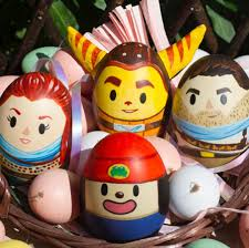 Happy Easter Xbox Hand Painted Playstation Easter Eggs News Of Video Game
