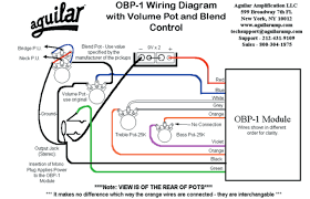 aguilar obp 1 preamp wiring diagram documents obp 1 volume pot and blend control