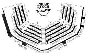 Trustees Theater Seating Chart Lewis University Theatre Philip Lynch Theatre Seating