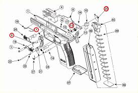 springfield armory xd sub compact 9mm 4 9mm Pistol Parts xd parts diagram 9mm pistol parts