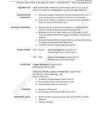 40 Lab Technician Resume Sample Free Resume Custom Lab Technician Resume
