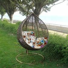 rattan hanging swing chair patio garden egg chair hammock outdoor furniture new