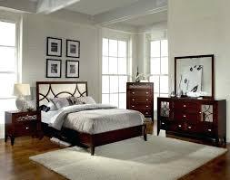 bedroom set with mirror headboard tufted king