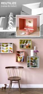diy room accessories diy box shelves colorful wallpaper diy room decor